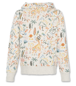 AO76 Sweater AOP mit all over water print