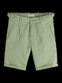 Scotch Shrunk Lässiger Chino-Shorts mit Umschlag in