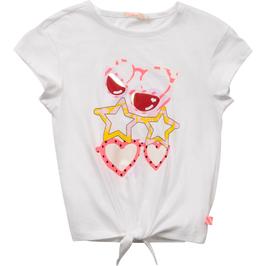 Billieblush T-Shirt mit Glitzer-Motiv und holografischen Effekten