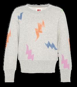 AO76 0 c-neck sweater multicolour in Light Oxford