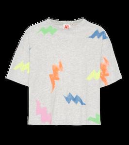 AO76 0 T-Shirt oversized multicolour in Light Oxford