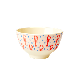 Small Melamine bowl, lobster