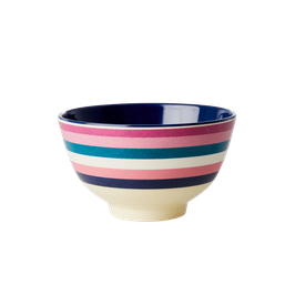 Small Melamine bowl, stripes