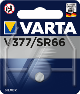 VARTA Watch V377 Blister1 , 1,55V