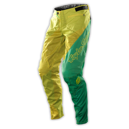 Troy Lee Designs Kids Sprint Pants Camber Gelb-Grün