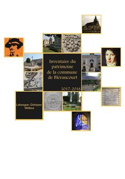 Inventaire du Patrimoine de la Commune de Blérancourt