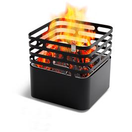 Höfats Cube schwarz Feuerkorb