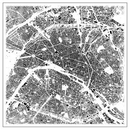 Schwarzplan Paris