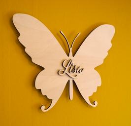Wandbord 'vlinder'