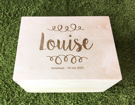 Box met naam 'sweet'