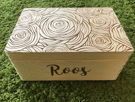 Box met naam 'full cover roses'
