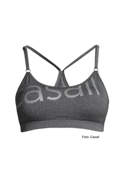 CASALL Strappy Sports Bra in grau