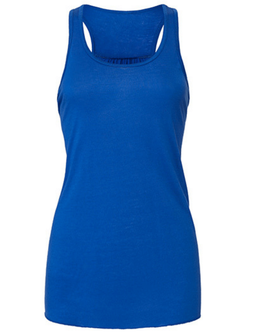 Lässiges Racerback Tank Top, royal-blau
