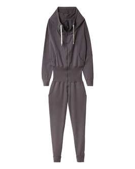 10DAYS Hooded Jumpsuit, pavement