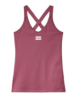10DAYS Wrapper - Tank Top, grape