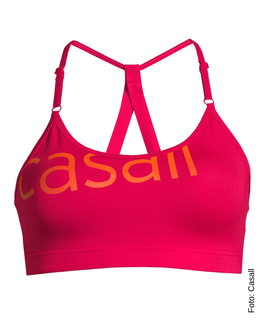 CASALL Strappy Sports Bra, vivid pink