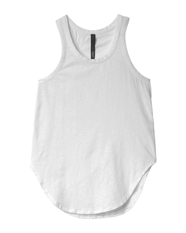 10DAYS Tank Top Slub, white