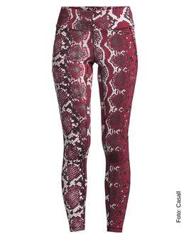 CASALL Snake Tights, red snake