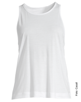 CASALL Liquid Tencel Tank, white