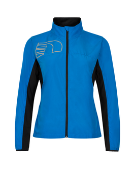 Core Cross Jacket, blau