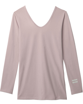 10DAYS 3/4 Sleeve-V-Neck Top, light pink