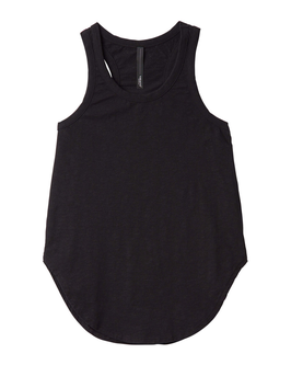 10DAYS Tank Top Slub, black