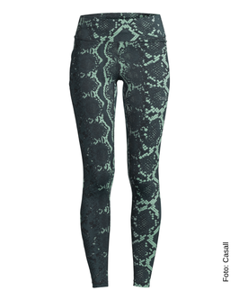 CASALL Snake Tights, green snake