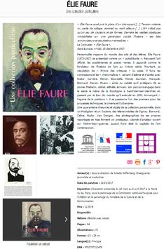 """Catalogue de l'exposition """"Elie Faure, une collection particulière"""""""