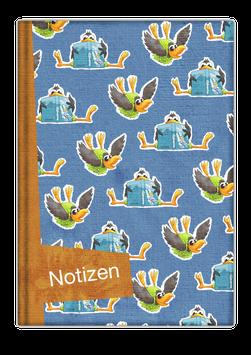 Notizbuch Nr. 5 - Die kleine Krähe Kristina