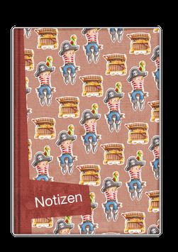 Notizbuch Nr. 3 - Kleiner Pirat
