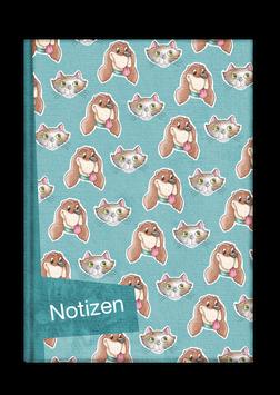 Notizbuch Nr. 1 - Hunde & Katzen