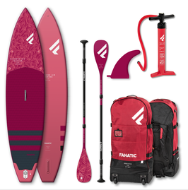 Fanatic 2021 Diamond Air Touring inflatable Package inkl. Paddle