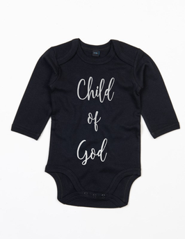Baby long bodysuit Child of God