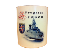 Fregatte Hessen Becher