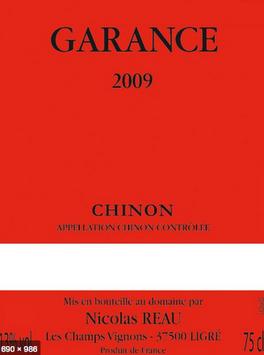 """2017 AOC Chinon """"Garance"""""""