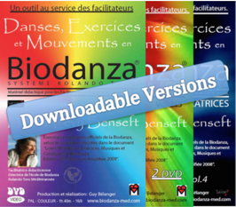 "DVDs Series (Downloadable Version) - Dances, Exercises and Movements in Biodanza ""Rolando Toro System"""