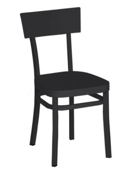WEISHÄUPL Bistro Stuhl Flow - schwarz