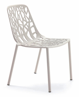 FAST Stuhl Forest - cremeweiß