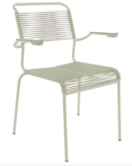 SCHAFFNER Sessel Säntis - pastellgrün