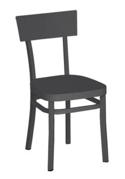 WEISHÄUPL Bistro Stuhl Flow - graumetalic