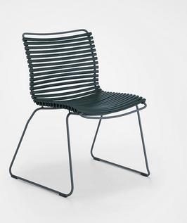 HOUE Stuhl Click ohne Armlehne - Dunkelgrün