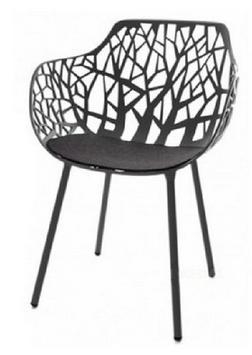 HEY-SIGN  Filz Sitzkissen für Stuhl Forest mit Antirutschausrüstung