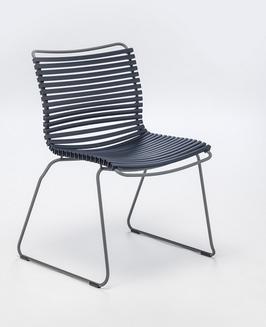HOUE Stuhl Click ohne Armlehne - Dunkelblau