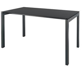 SCHAFFNER Tisch Luzern - 90 x 160 cm - Anthrazit