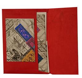 Papier à lettre patchwork