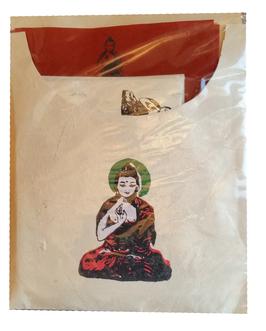 Papier à lettres : Bouddha