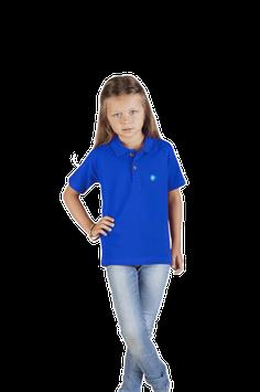 """Blaues Kinder Premium Poloshirt """"THÜRINGER WORTSCHÄTZE"""""""
