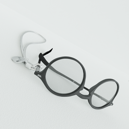 HOLDIE Lunettes Silver Crystal