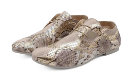 Donna Carolina  -----Hand Made ----- Schuhe  Burano   Animal Print  Voll Leder   Snake print slip-on - Grösse bis 42