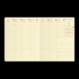 Pre Prestige 21x27cm Kalender-Einlage - Quo Vadis Kalender 2022